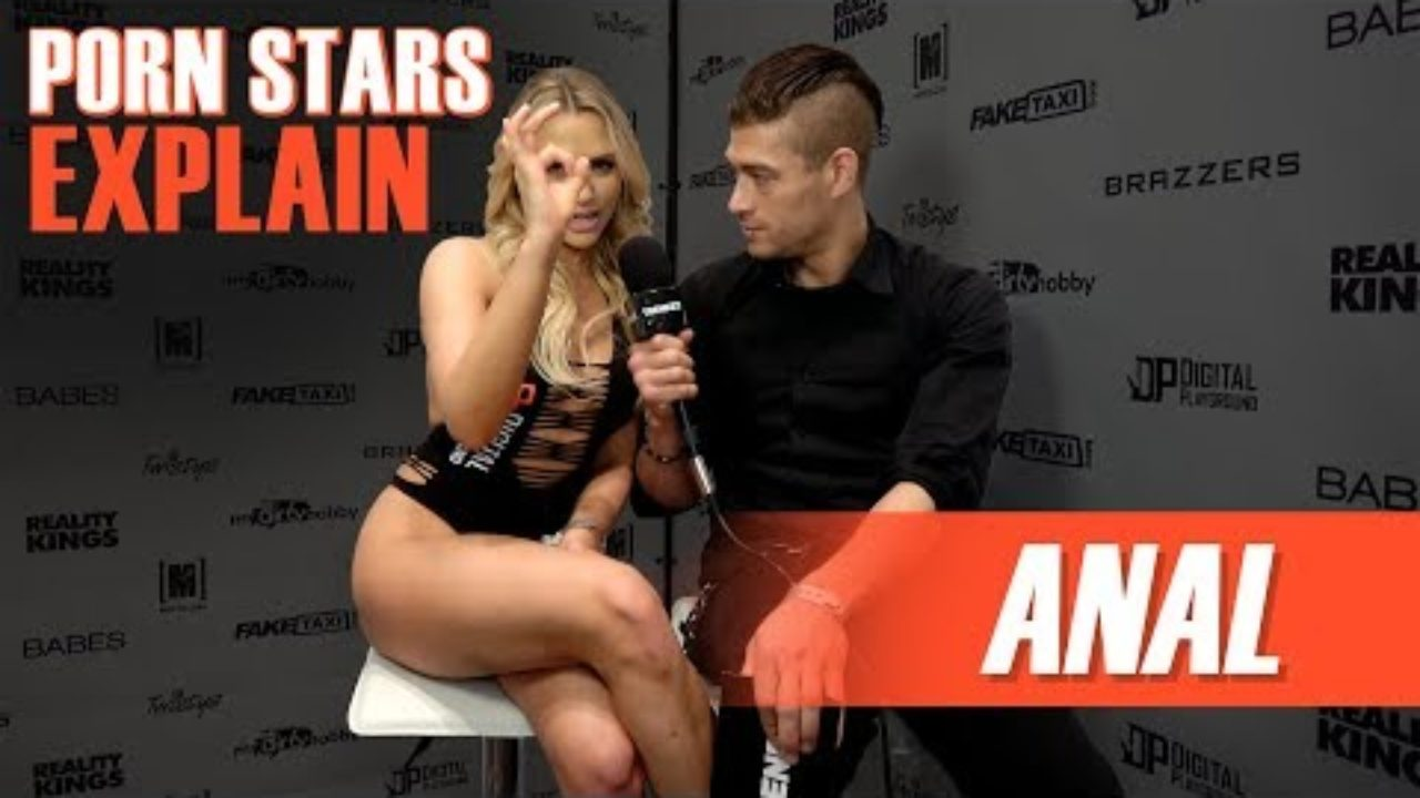How porn stars prepare for anal sex