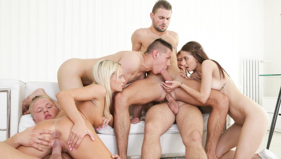 Anal bi orgy