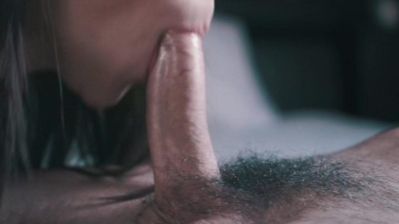 Amateur Blowjob Cum Tits